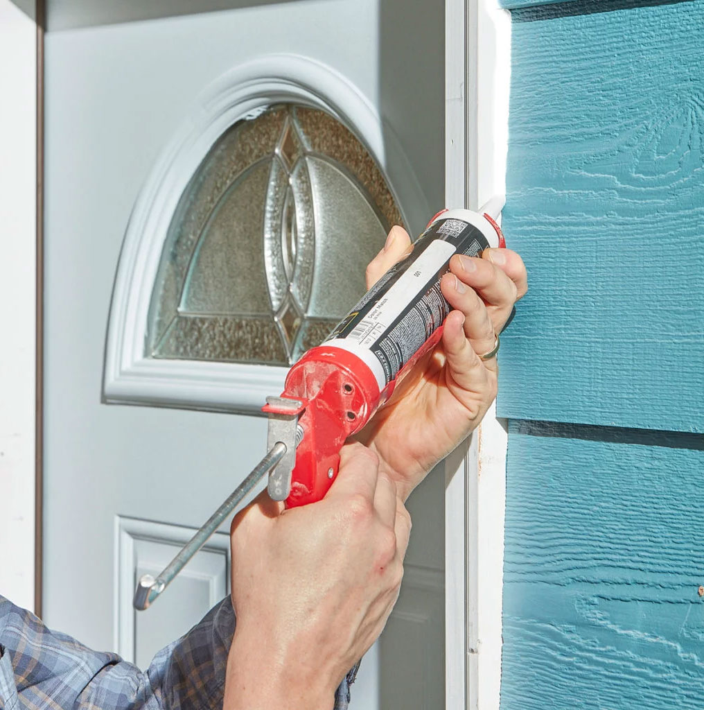 Why caulk your doors and windows?